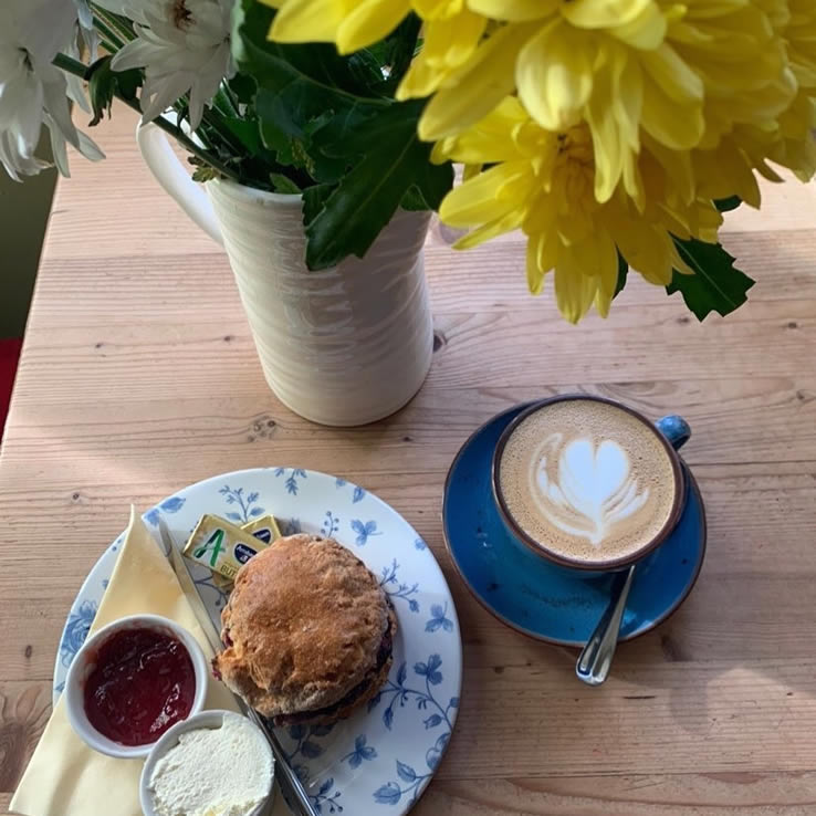 Coffee & Scone