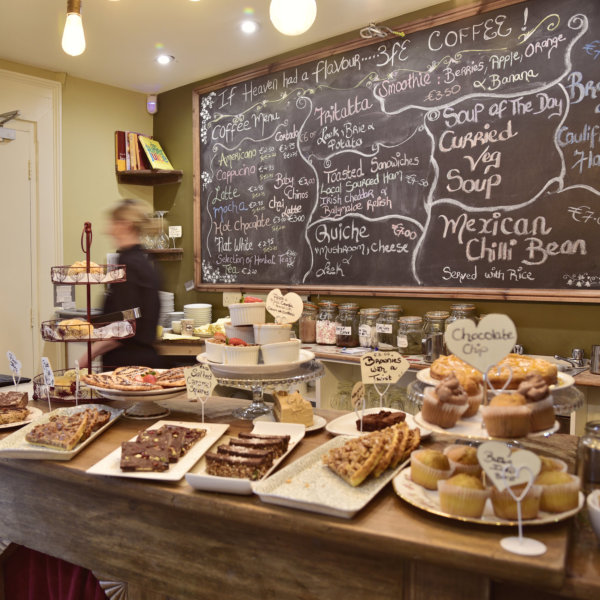 Steeples Cafe, Bookstore, Shop Organic, Natural, Local Products